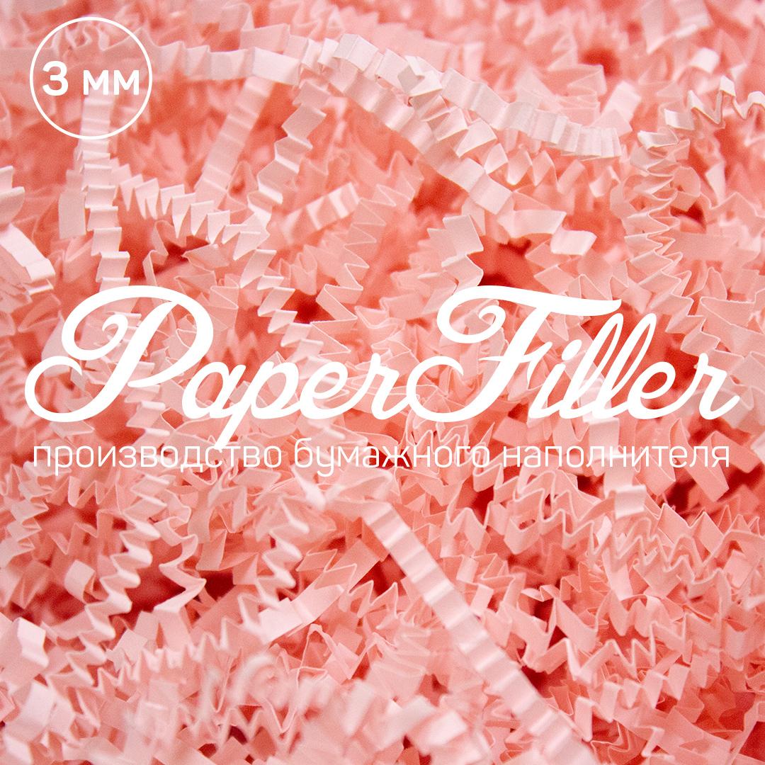 Бумажный наполнитель Paperfiller Розовый фламинго