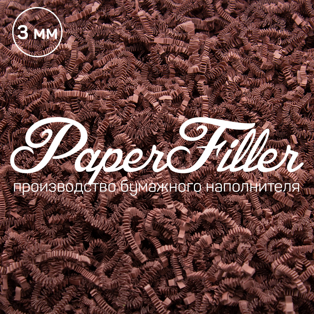 Бумажный наполнитель Paperfiller Роза
