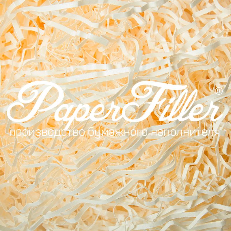 Бумажный наполнитель Paperfiller 'Curious Слоновая кость