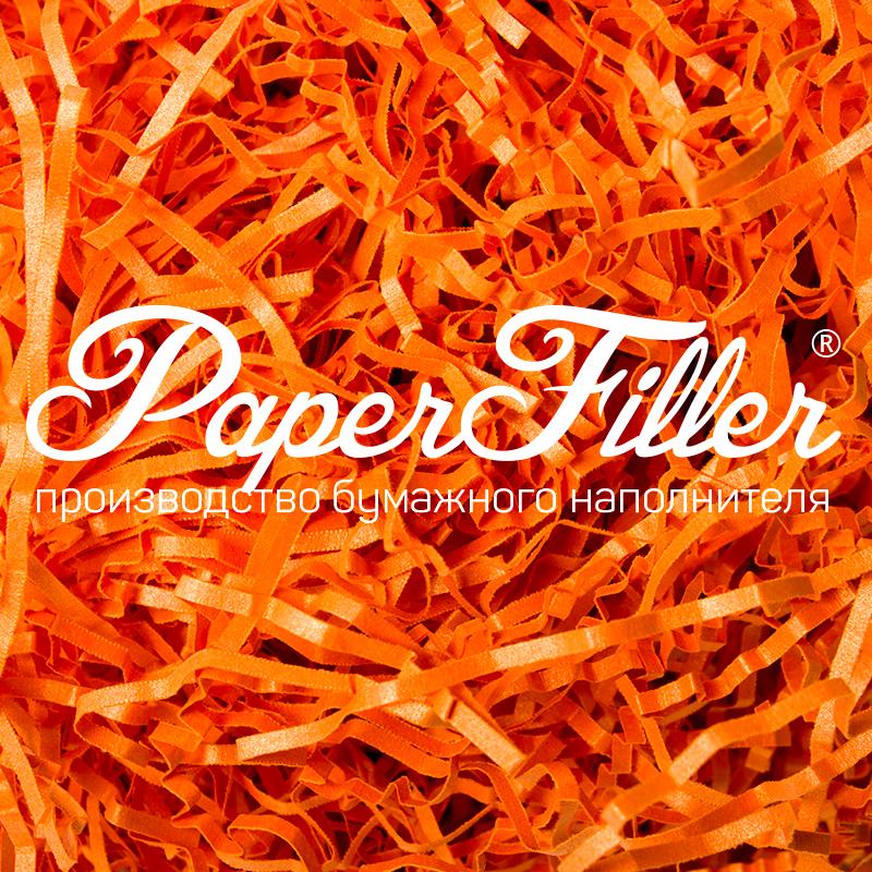 Бумажный наполнитель Paperfiller 'Curious Мандарин