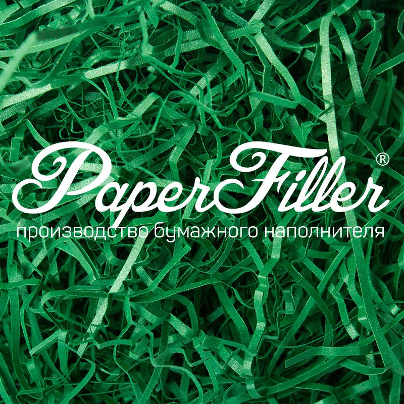 Бумажный наполнитель Paperfiller 'Curious Зеленый