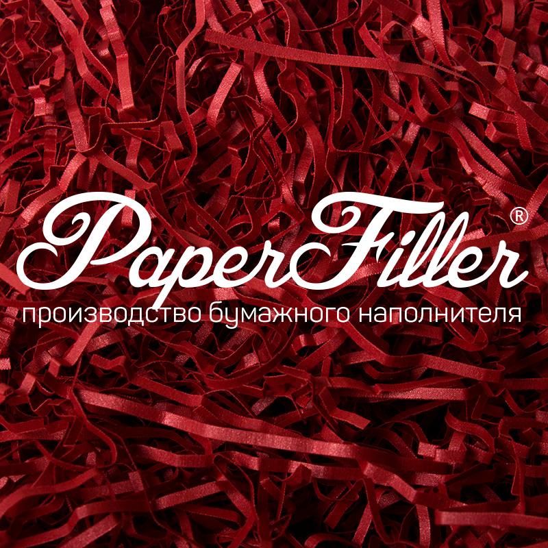 Бумажный наполнитель Paperfiller 'Curious Красный