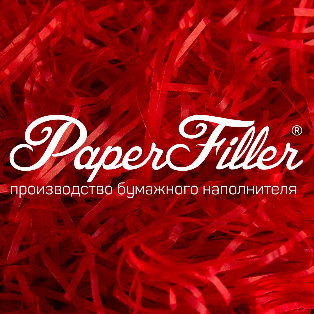 Бумажный наполнитель Paperfiller 'Красный