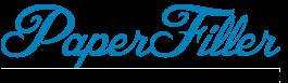 Бумажный наполнитель для коробок Логотип